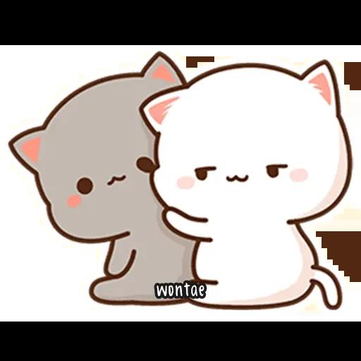 Peach Cat 2 - Sticker 24