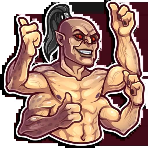 Mortal Kombat - Sticker 1