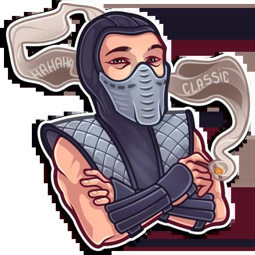 Mortal Kombat - Sticker 15