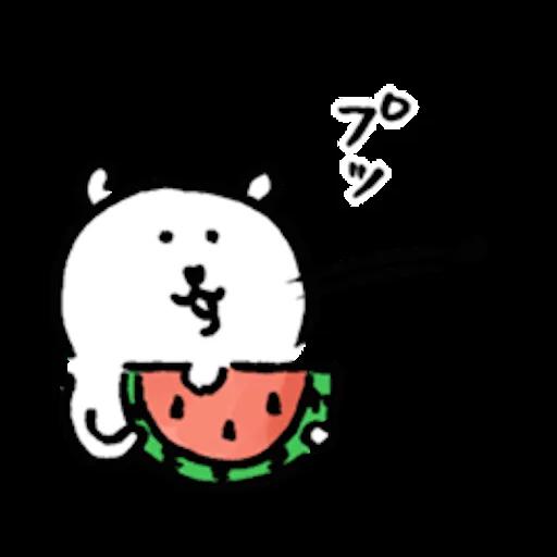 自分ツッコミくま_なつ - Sticker 13