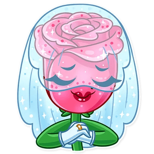 Romantic Flowers - Sticker 15