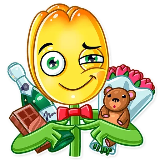 Romantic Flowers - Sticker 11