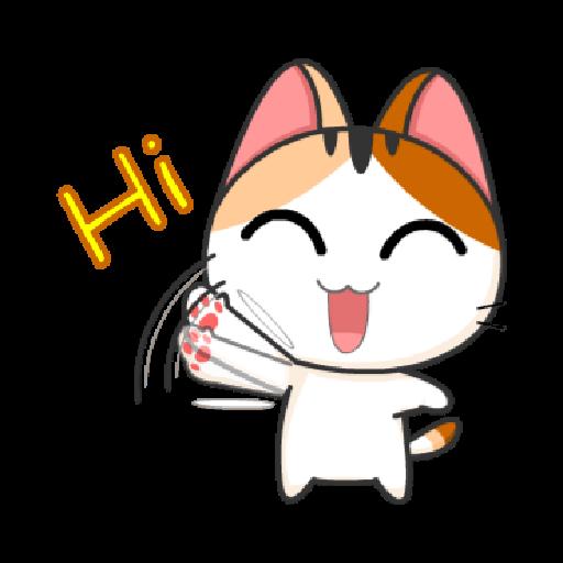 猫咪可及1 - Sticker 2