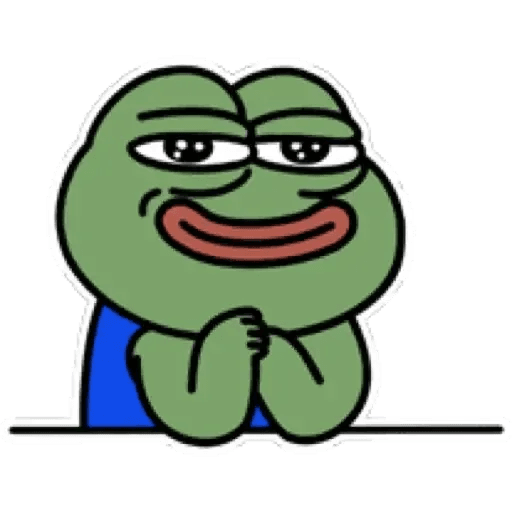 Cute Pepe - Sticker 15