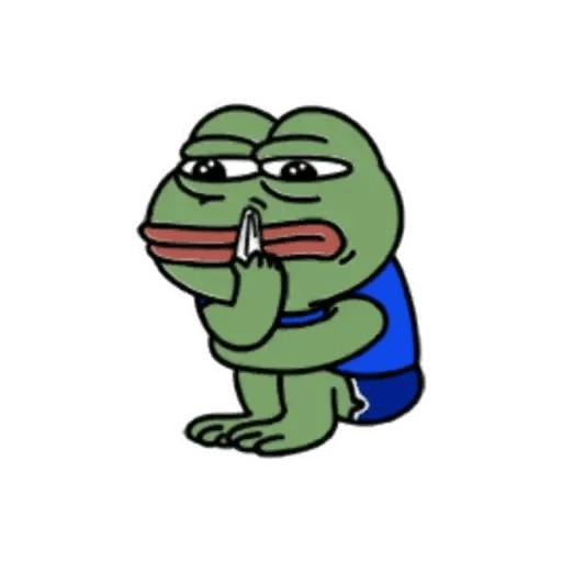 Cute Pepe - Sticker 16