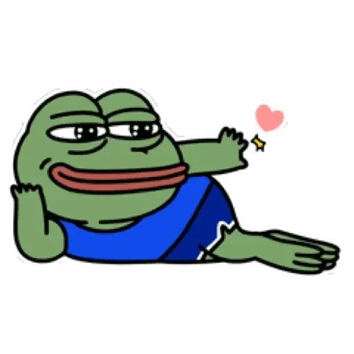 Cute Pepe - Sticker 6
