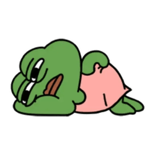 Cute Pepe - Sticker 13