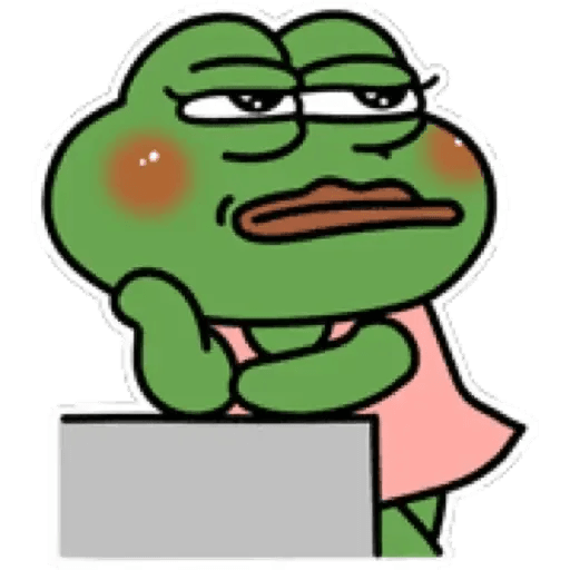 Cute Pepe - Sticker 11