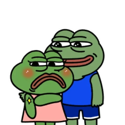 Cute Pepe - Sticker 9