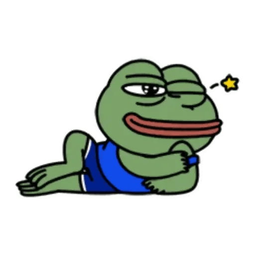 Cute Pepe - Sticker 12