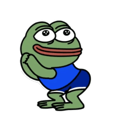 Cute Pepe - Sticker 4