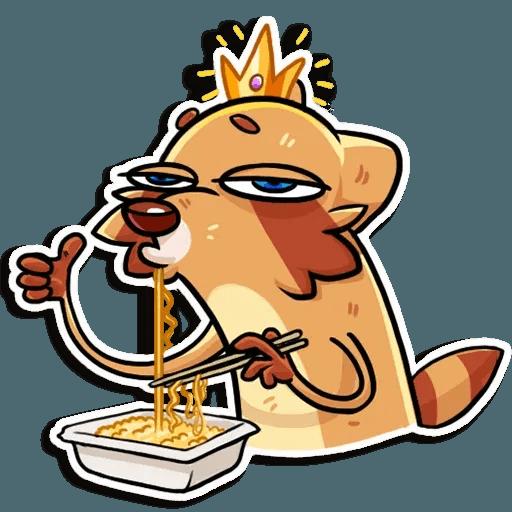 Mr. Raccoon - Sticker 4