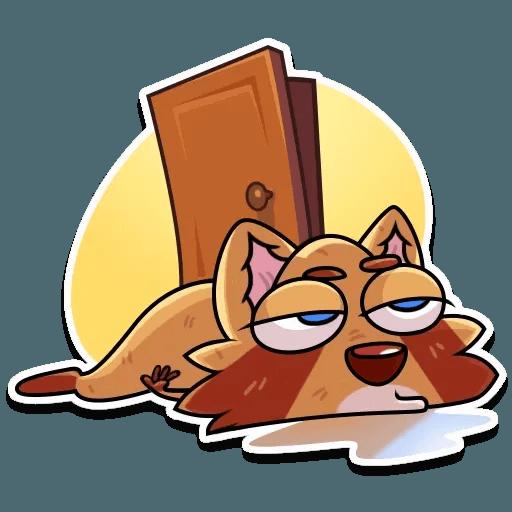 Mr. Raccoon - Sticker 13