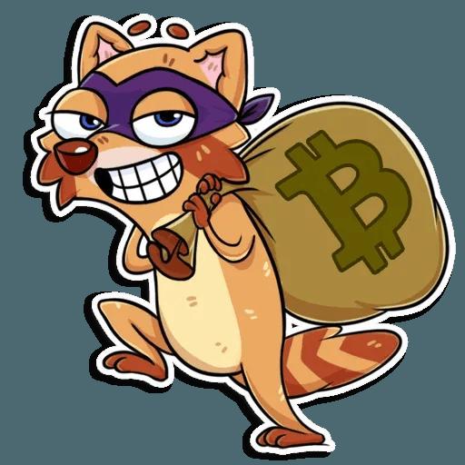 Mr. Raccoon - Sticker 9