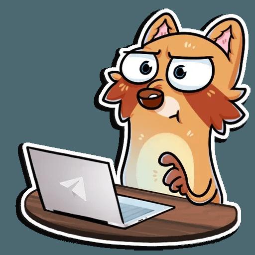 Mr. Raccoon - Sticker 7