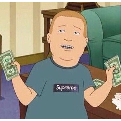 Bobby Hill 3 - Sticker 2