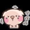 萌萌豬1 - Tray Sticker