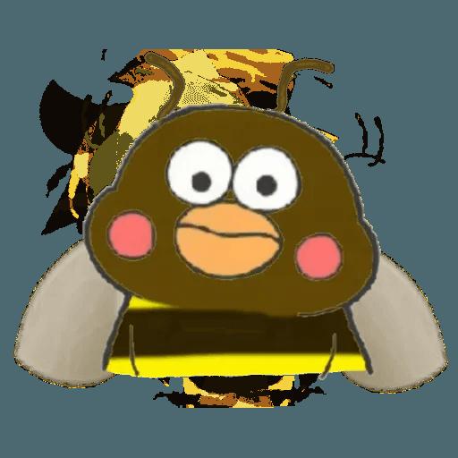 Docomo chicken2 - Sticker 4