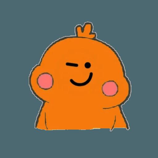 Docomo chicken2 - Sticker 15