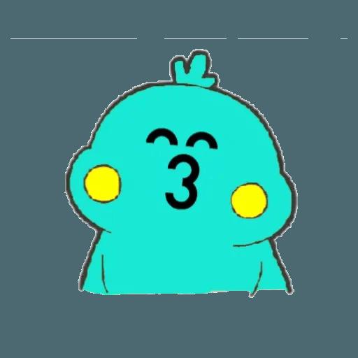 Docomo chicken2 - Sticker 13