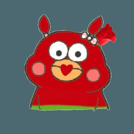 Docomo chicken2 - Sticker 6