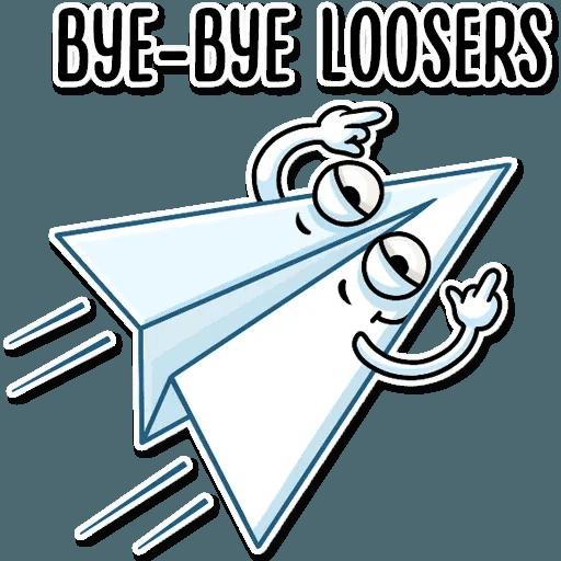 PaperAirplane - Sticker 12