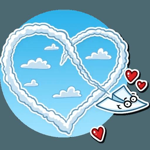 PaperAirplane - Sticker 15