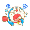 多啦A夢 - Tray Sticker