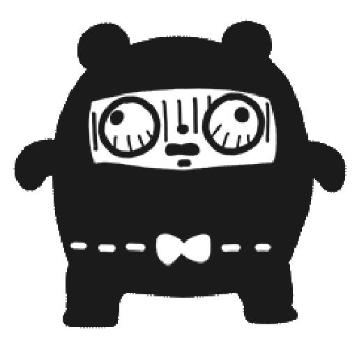 Ninja Bear - Sticker 20