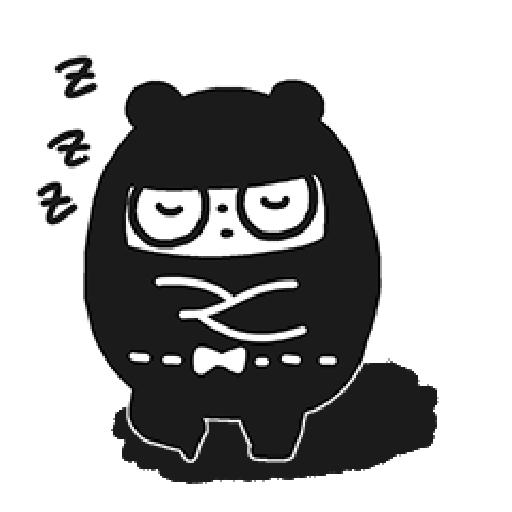 Ninja Bear - Sticker 11