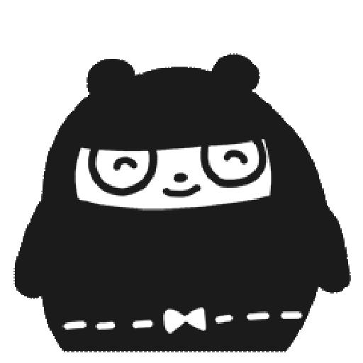 Ninja Bear - Sticker 16