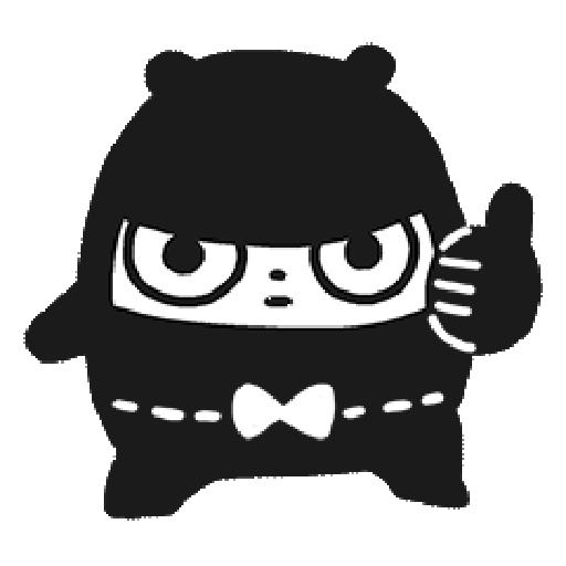 Ninja Bear - Sticker 15
