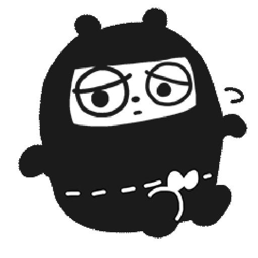 Ninja Bear - Sticker 6