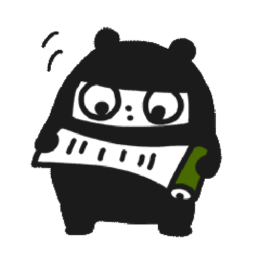 Ninja Bear - Sticker 18