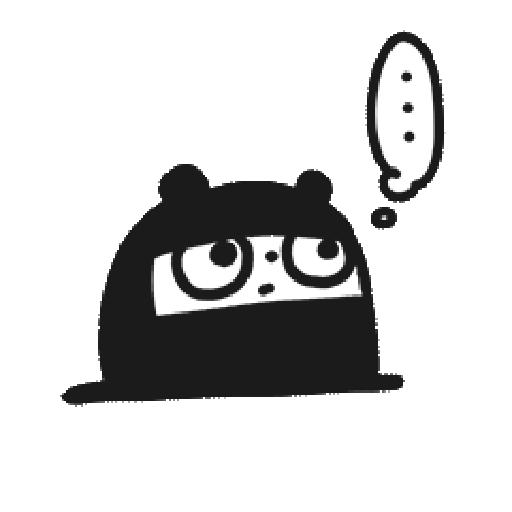 Ninja Bear - Sticker 14