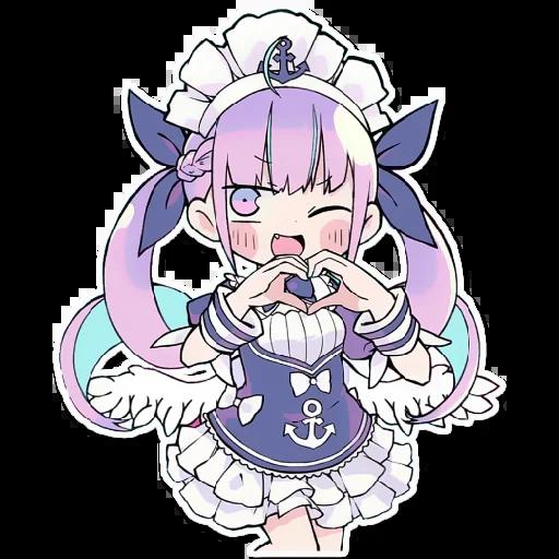 湊あくあ - Sticker 11