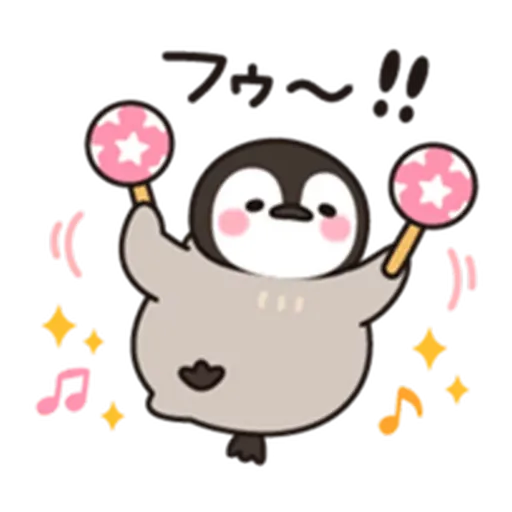 Little penguin - Sticker 5