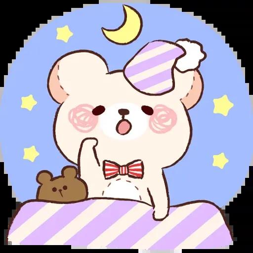 Bear 1 - Sticker 12