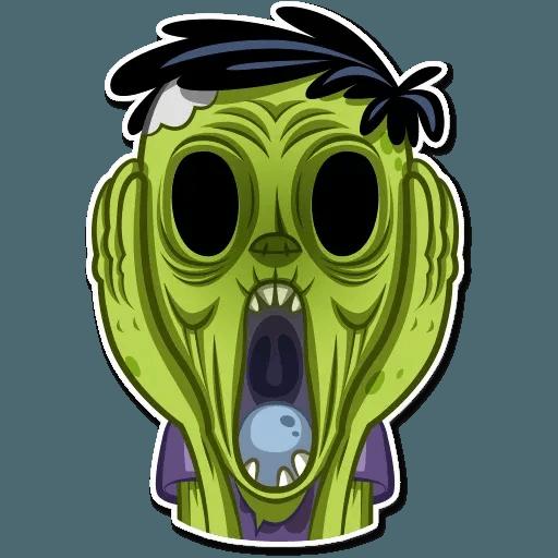 Zombie - Sticker 15