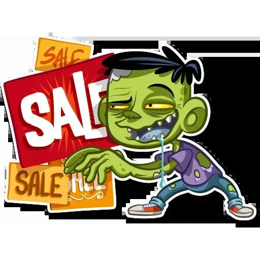 Zombie - Sticker 26