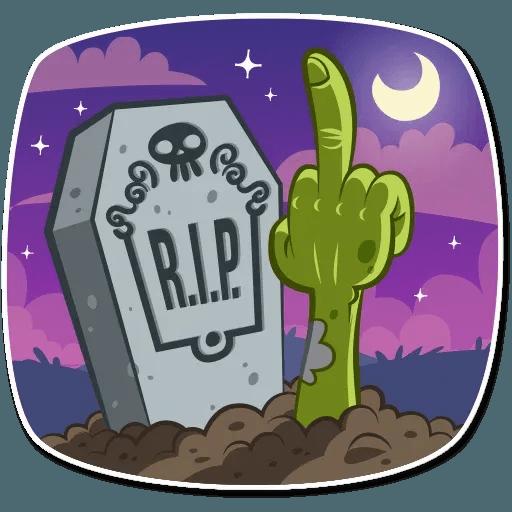 Zombie - Sticker 16