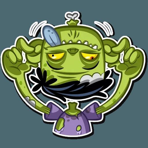 Zombie - Sticker 17