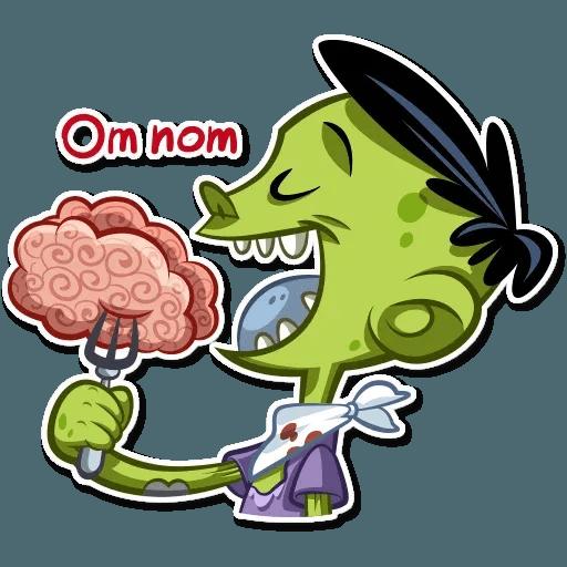 Zombie - Sticker 10