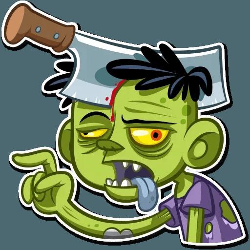 Zombie - Sticker 6