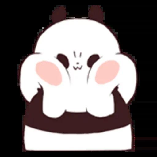 Panda - Sticker 20