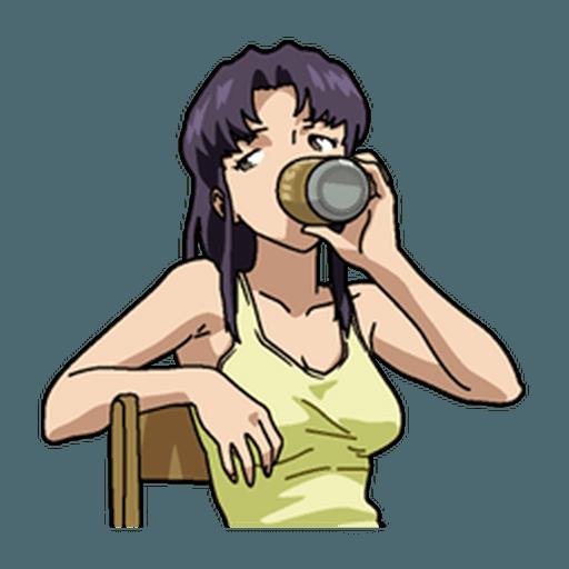 Evangelion Vol1 - Sticker 21