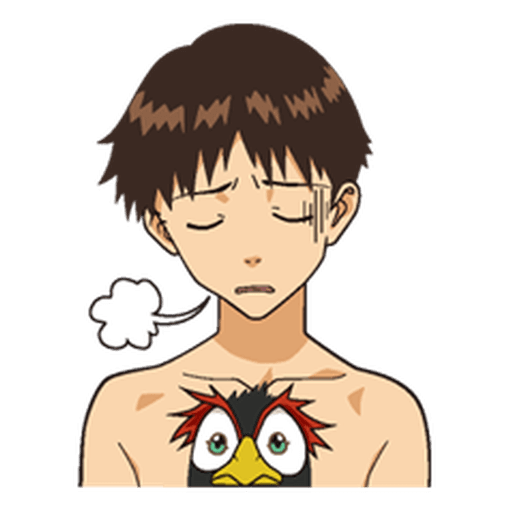 Evangelion Vol1 - Sticker 2