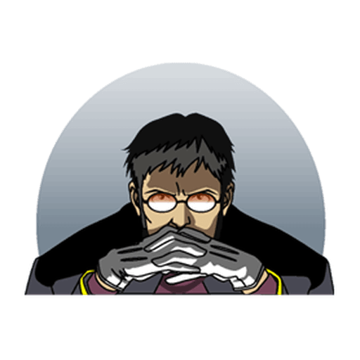 Evangelion Vol1 - Sticker 29