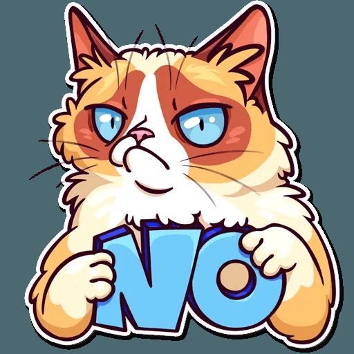 Meme Cats Stickers - Sticker 25