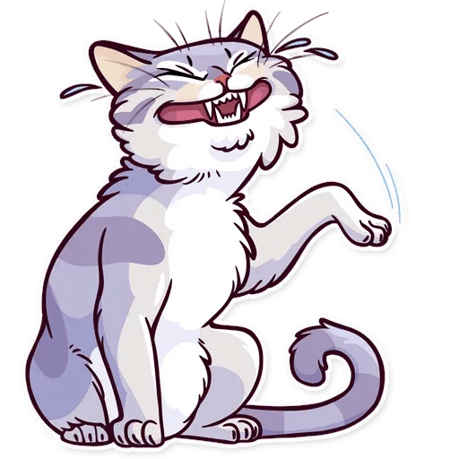 Meme Cats Stickers - Sticker 17